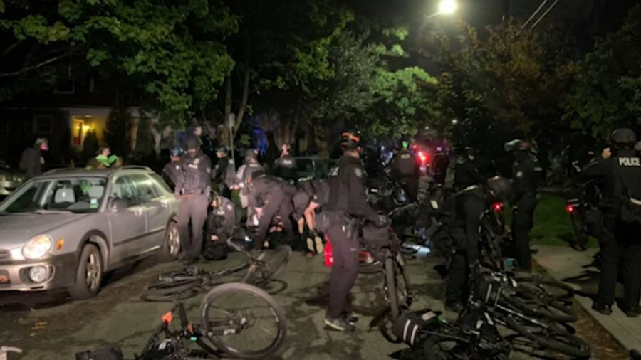 Police Arrest 5 After March in Seattle