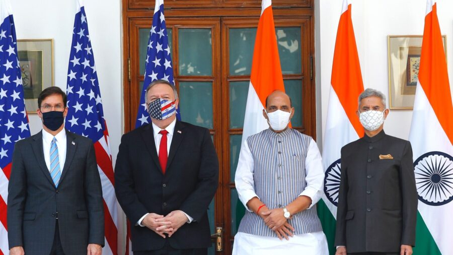 US, India Cooperate Against Threat Posed by China, Sign Military Pact