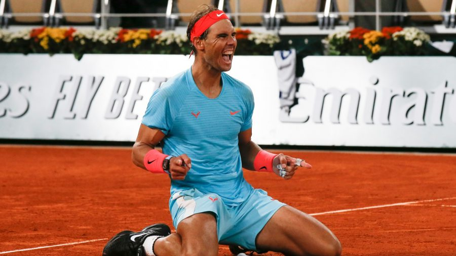Nadal wins French Open, Ties Federer With 20 Slam Titles