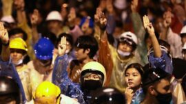 Thais Run Mass Protests With Hand Signals