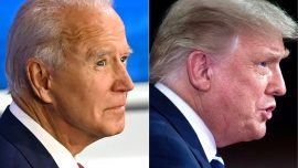 Trump/Biden in Separate Town Hall Events