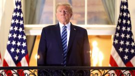 'Don't Let It Dominate You': Trump Says of COVID-19 After Leaving Hospital