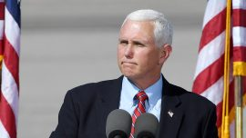 Pence Joins Georgia Senators to Defend Majority