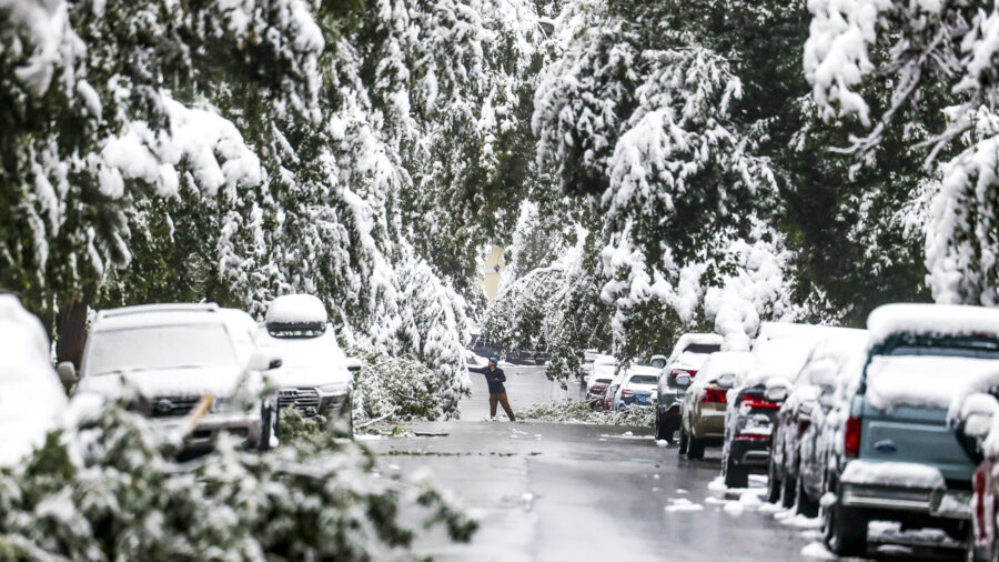 Early Season Winter Storm Could Cover Many States in Snow or Ice