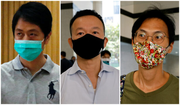Three Ex-lawmakers Arrested in Hong Kong Over Foul Smelling Liquid Protests