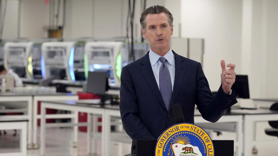 California Gov. Newsom's Child in 14-day Quarantine