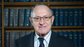 """Alan Dershowitz Condemns Blacklists of Trump Associates: """"It's a Fight for Liberty & Freedom"""""""