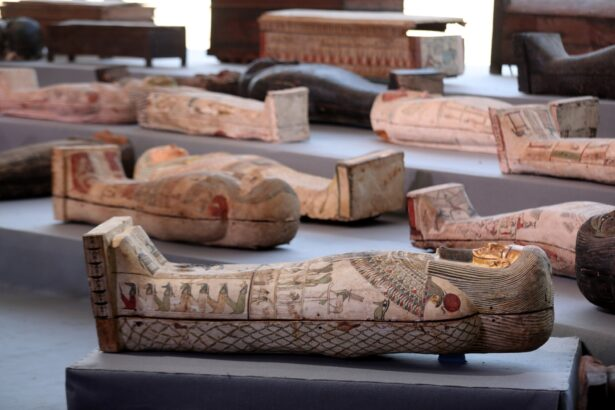 2500 years old Sarcophaguses