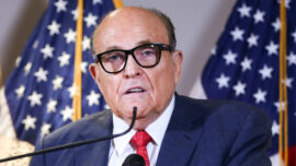 Giuliani Alleges Dominion Director's Ties to Antifa