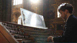 A French Church Organist at Play