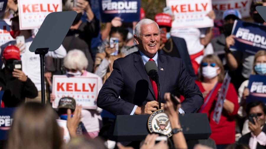 Pence Paints Georgia Senators as 'Last Line of Defense' for Republicans