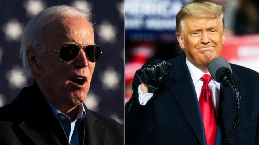 Biden to Spend Election Night in Delaware, Trump in Washington