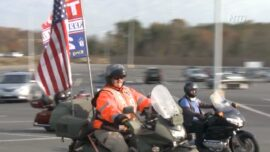 Bikers for Trump Join DC 'March For Trump' Rally