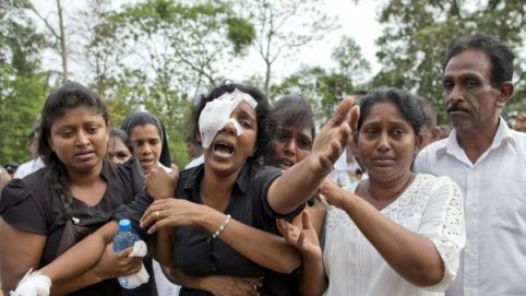 Sri Lankan Woman Loses Most of Her Family in Easter Bombings