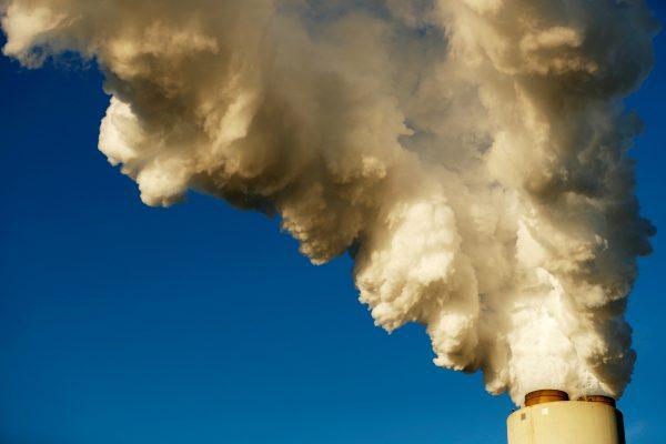 Steam rises from Duke Energy's Marshall Power Plant in Sherrills Ford