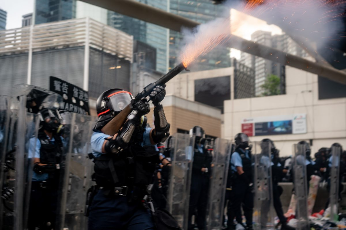 hong kong protest over extradition bill