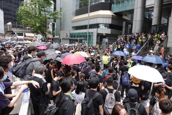 HK police headquarters