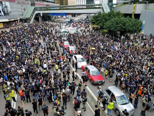 HK protesters