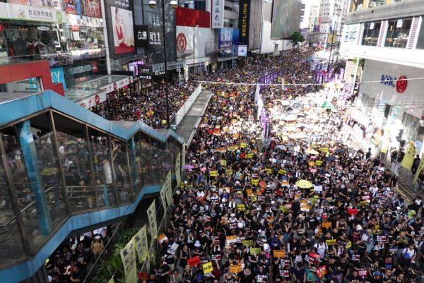 July 1 Hong Kong march