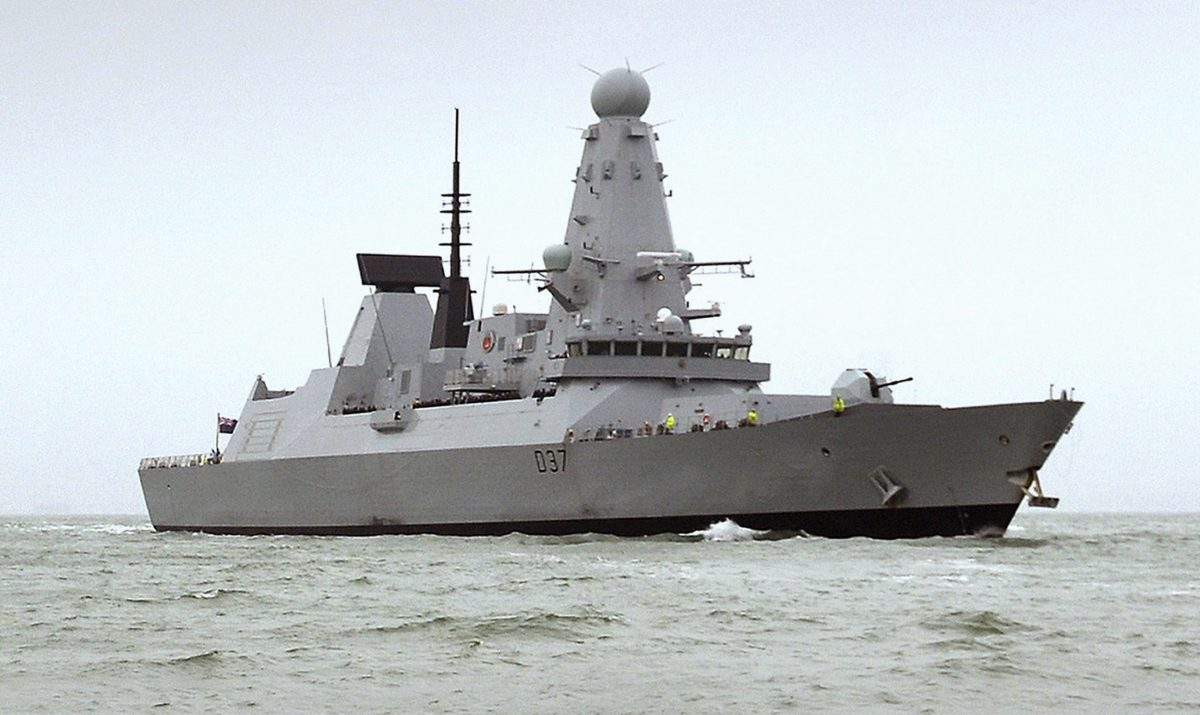 HMS Duncan, a Type 45 Destroyer