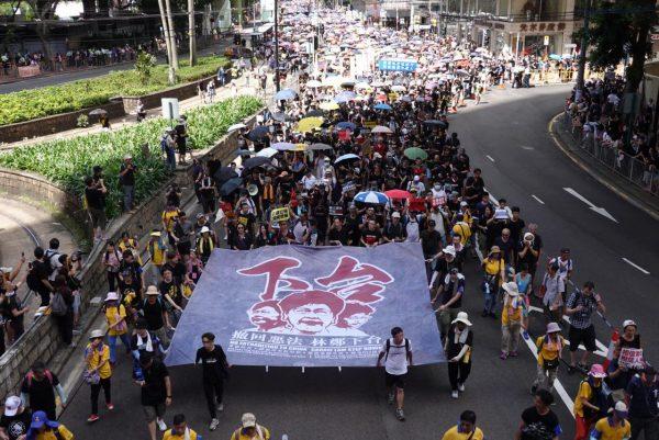 HK march July 1