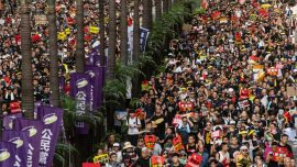 July 1 Hong Kong Protesters Cling to Belief in Freedom and Democracy