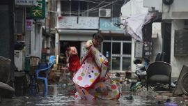 Death Toll Rises to 44 as Typhoon Lekima Wreaks Havoc in Eastern China