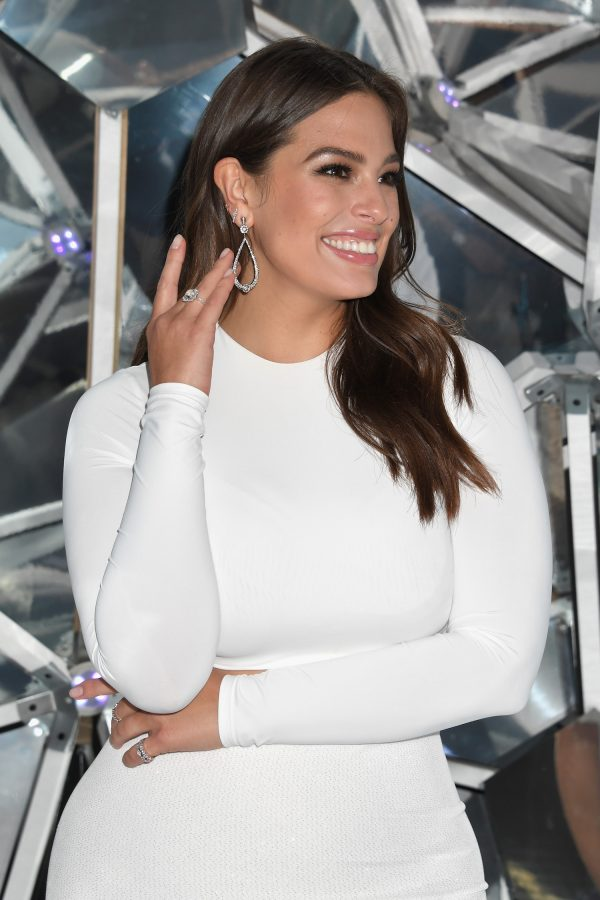 Ashley Graham attends the Forevermark Tribute event