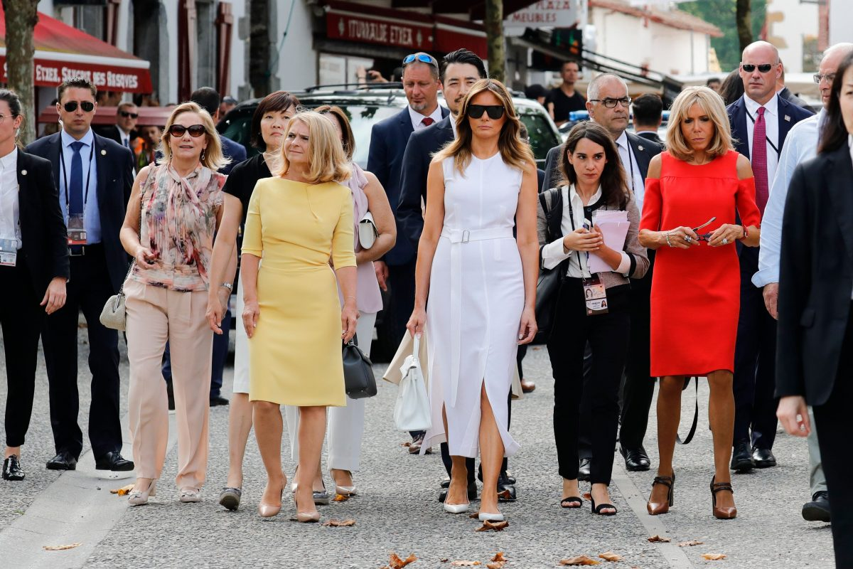 G7 spouses tour Espelette