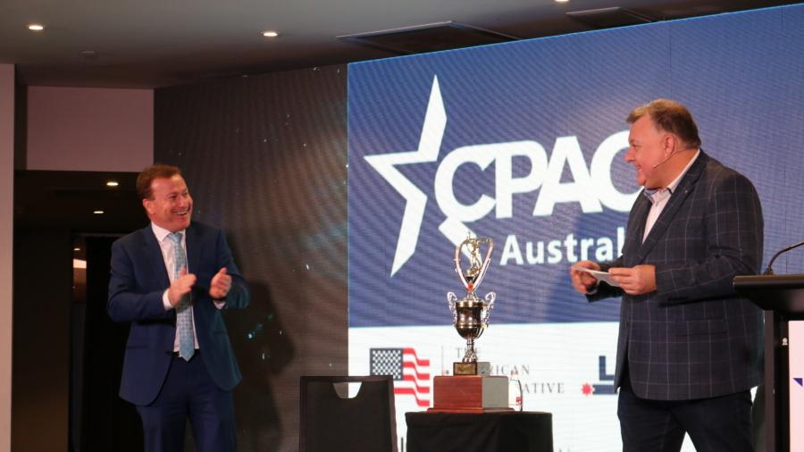 Left-Wing Politician Kristina Keneally 'Wins' Conservative Award at CPAC Australia