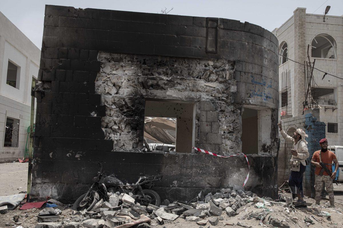 Yemen-attack-on-village