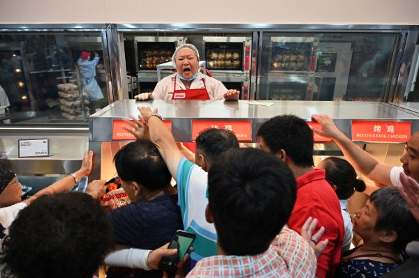 China Costco opening