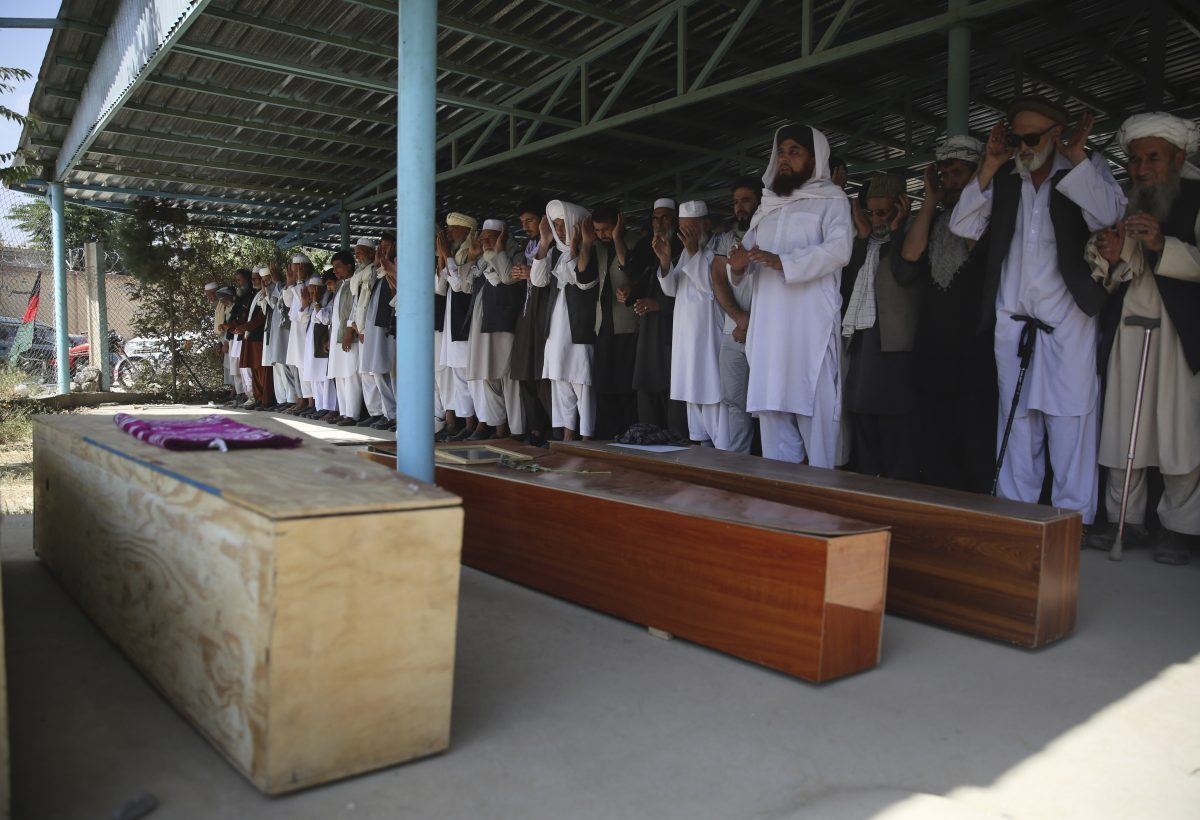 Afghanistan wedding bombing victims