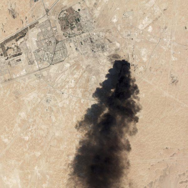 Saudi fire