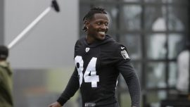 Antonio Brown and His Trainer Have Been Accused of Battering Someone at His Home, Police Say