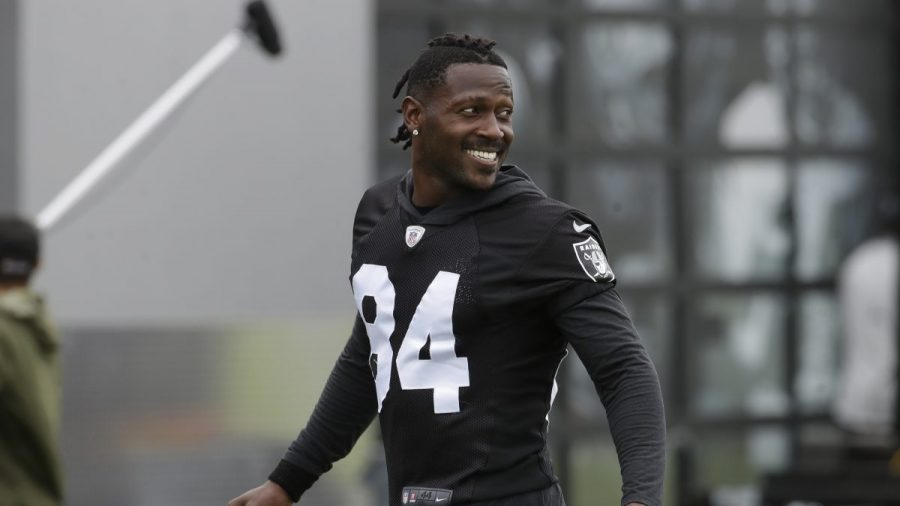 Cut by Raiders, Brown Becoming a Patriot on Eve of Opener
