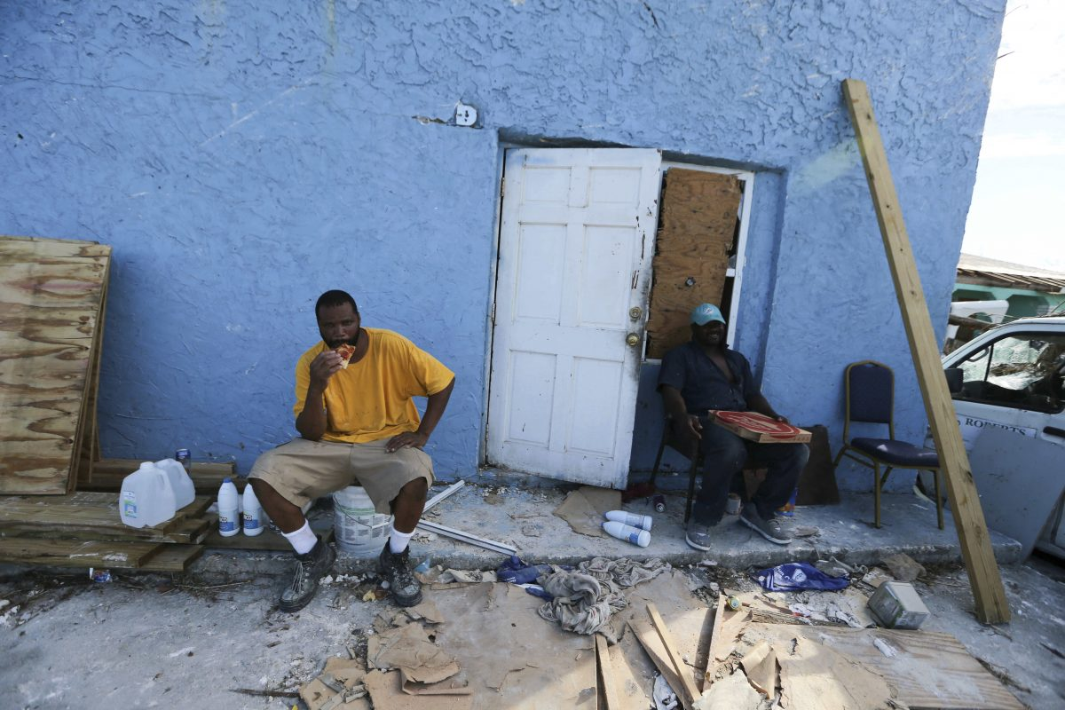 bahamas rescue hurricane disaster