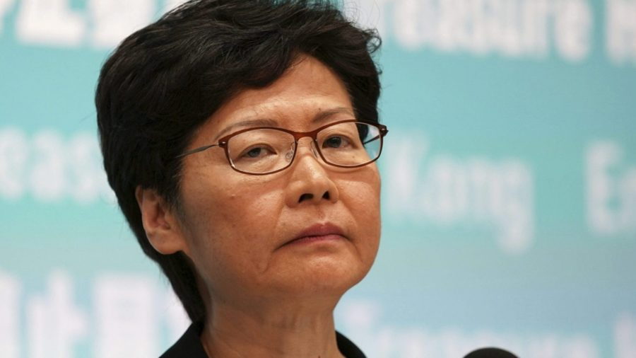 Beijing Denies Media Report of Plans to Replace Hong Kong Leader Carrie Lam