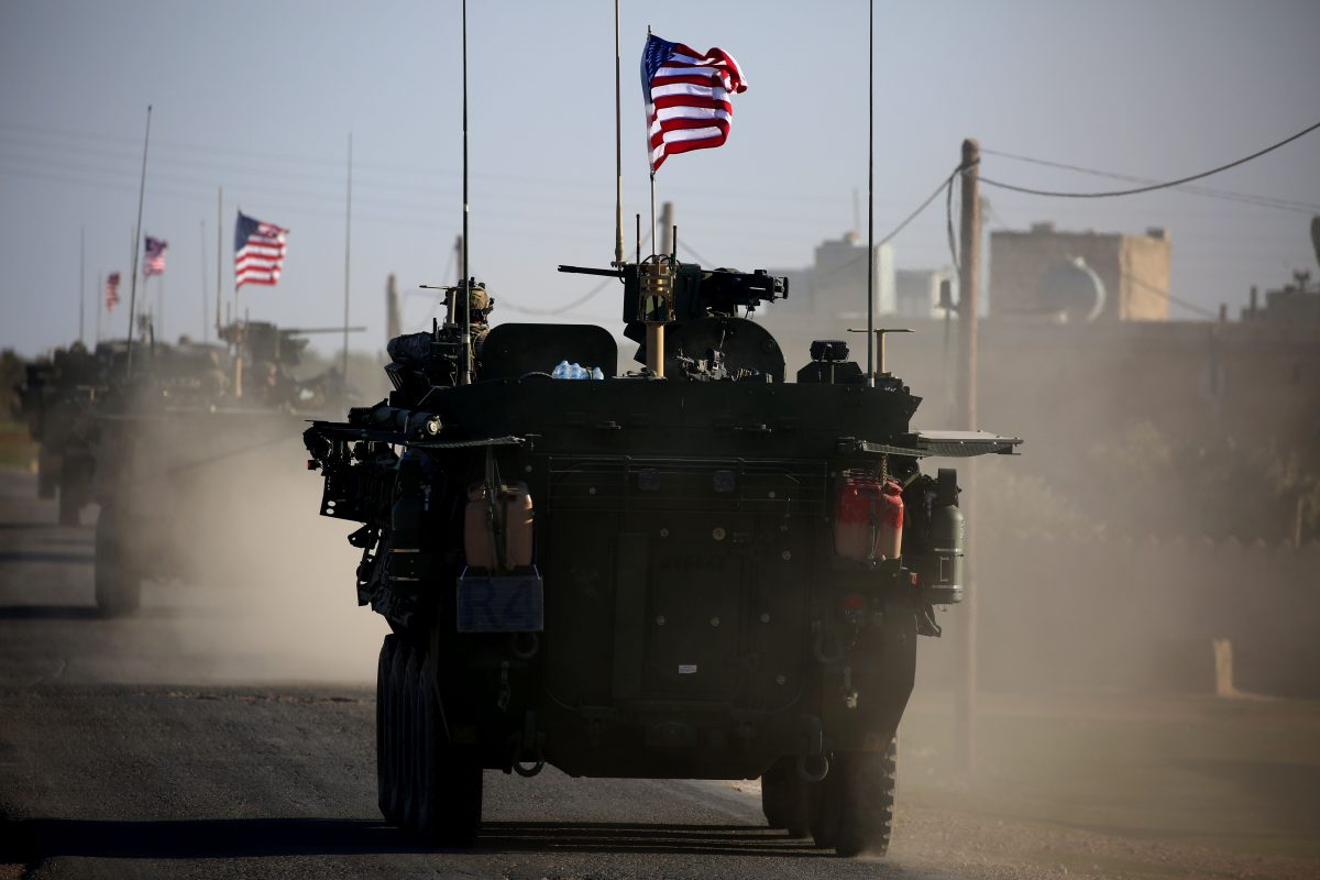 US forces in syria