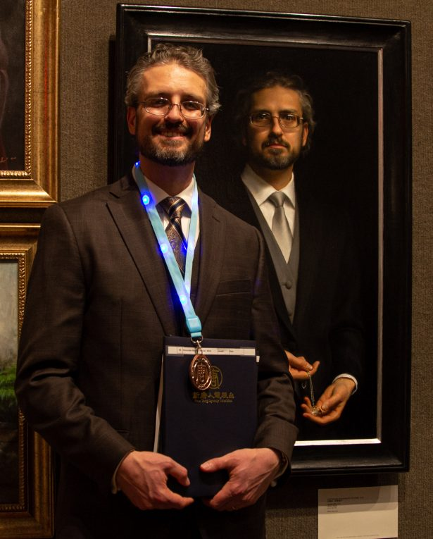 Joseph Daily won the Bronze Award