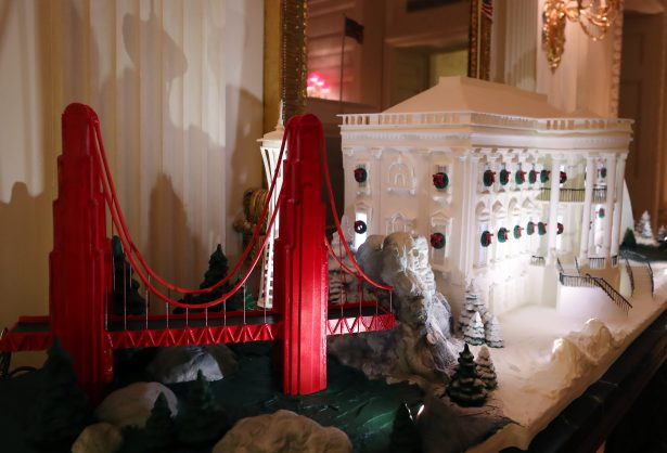 2019 white house gingerbread
