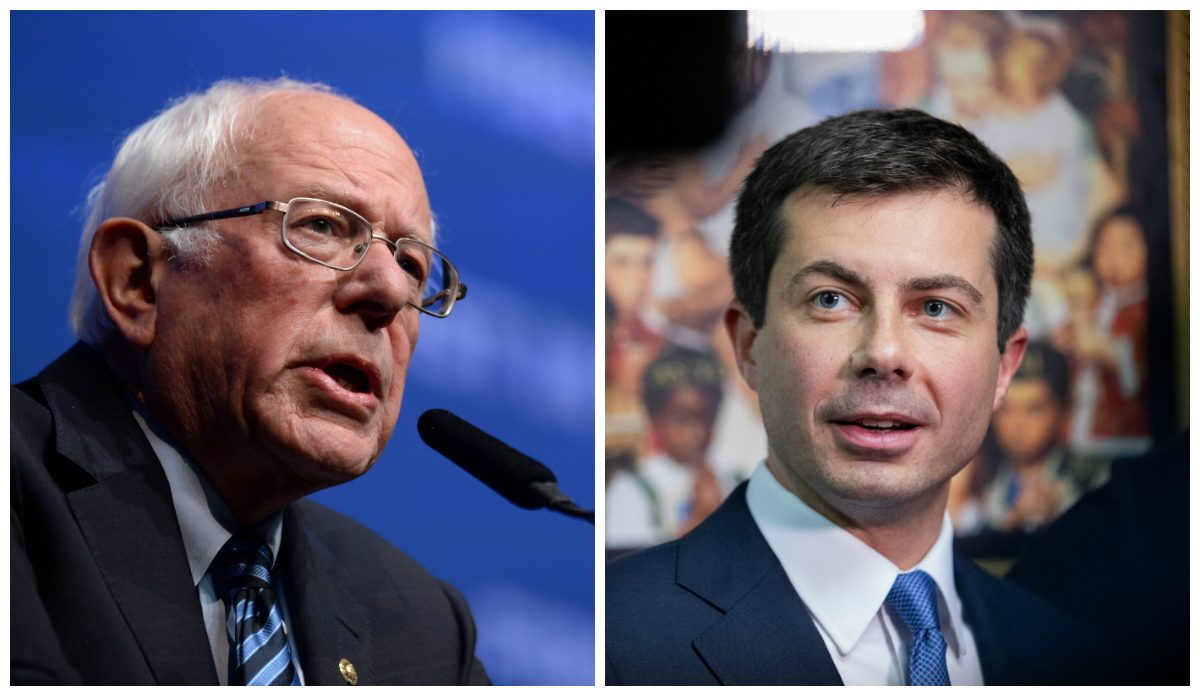 buttigieg and sanders