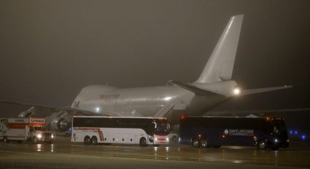 Flight Evacuating American Cruise Ship Passengers Exposed To Coronavirus In Japan Arrives In US