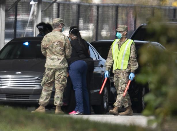 Members of Florida's National Guard
