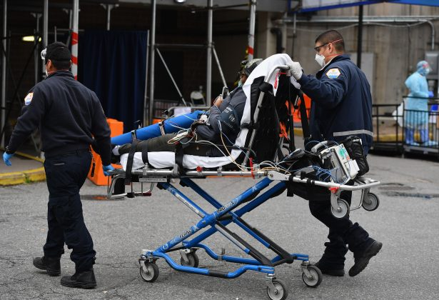 Nearly 1,300 More CCP Virus Patients Hospitalized in New York as Death Toll Approaches 2,000