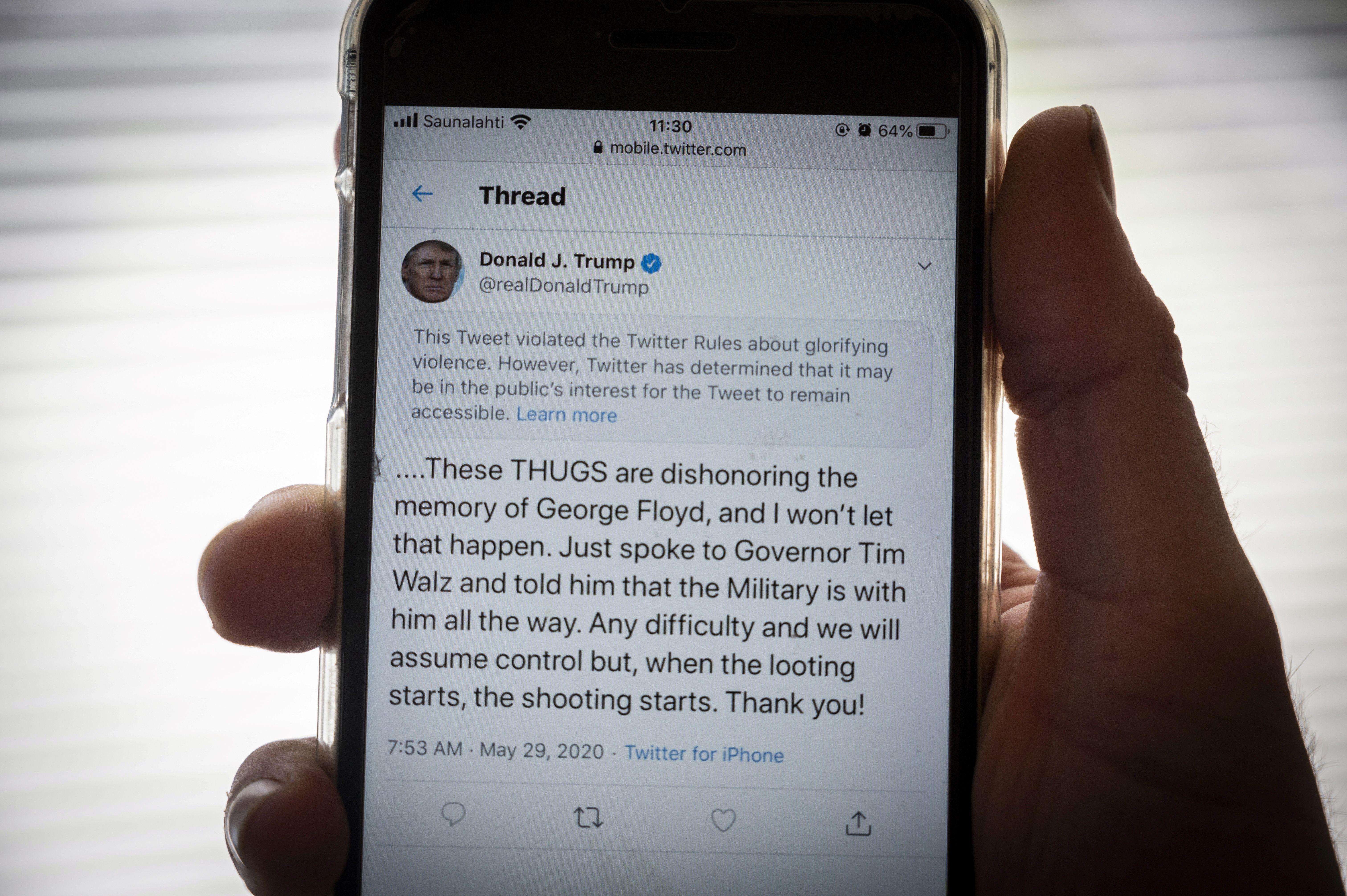 McDonalds Tweet Blasts President Trump, And Is Quickly