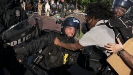 George Floyd Protests Turn Violent Again, Trump Vows Tougher Response to Riots