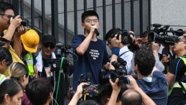 Joshua Wong Arrested for 2019 Offense