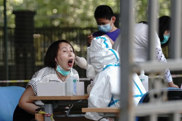 Beijing virus testing