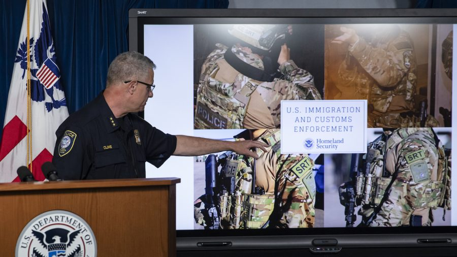 38 Officers Doxxed After Responding to Portland Riots, DHS Says